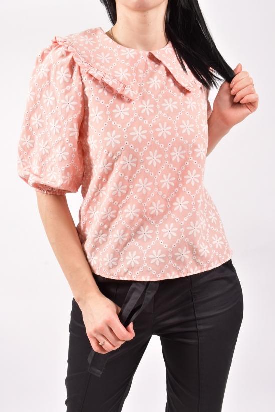Блузка женская (цв.пудры) Размеры в наличии : 42,44,46 арт.21199