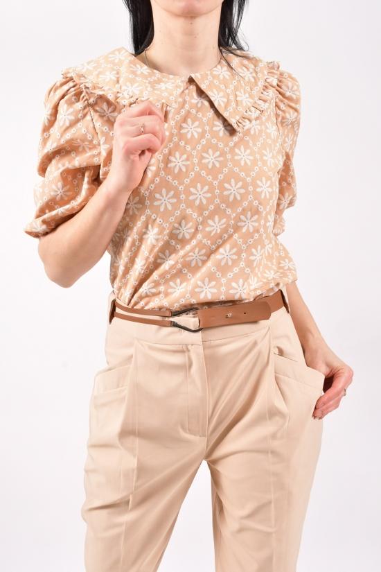 Блузка женская (цв.капучино) Размеры в наличии : 40,42,46 арт.21199