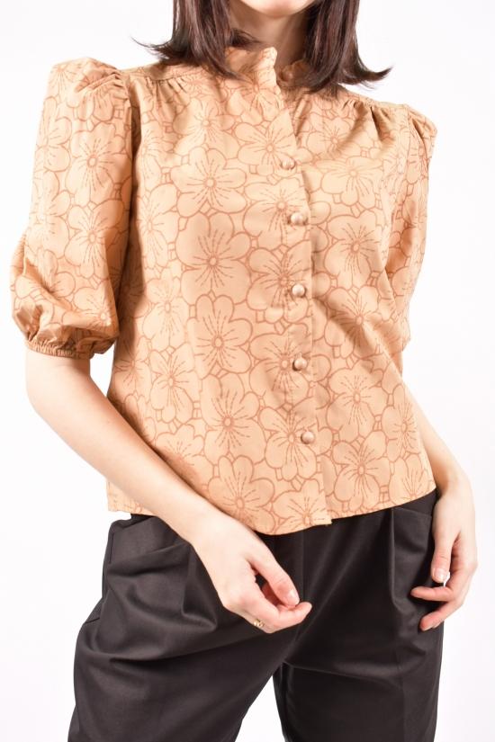 Блузка женская (цв.капучино) Размеры в наличии : 40,42,44 арт.21089K1