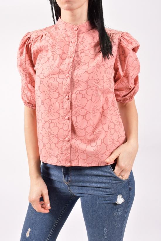 Блузка женская (цв.пудры) Размеры в наличии : 40,42,44 арт.21089