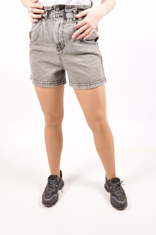 Шорты женские джинсовые (цв.R07) Размеры в наличии : 25,26,28,30 арт.8011-R