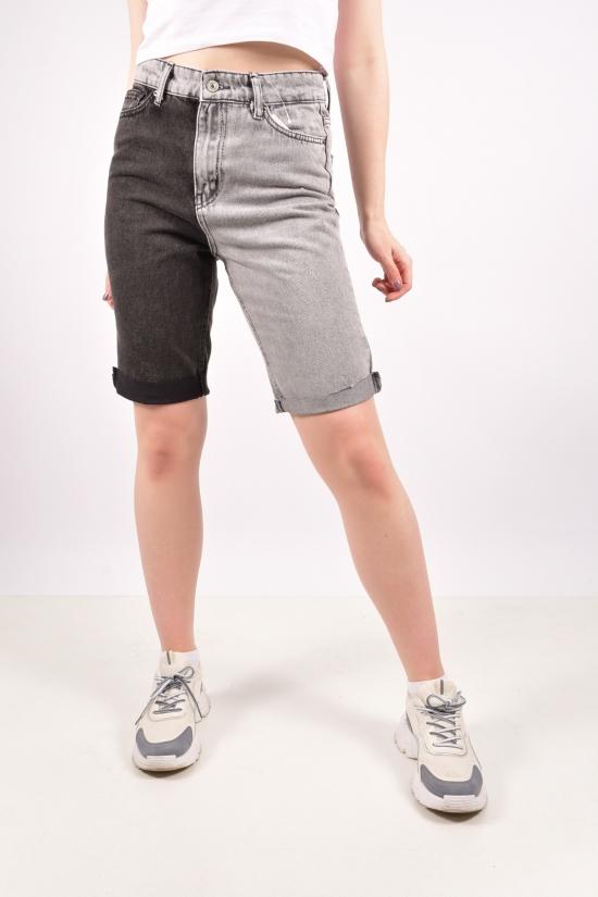 Шорты женские джинсовые (цв.R122) Размеры в наличии : 25, 26, 28, 30, 32 арт.8027-PK