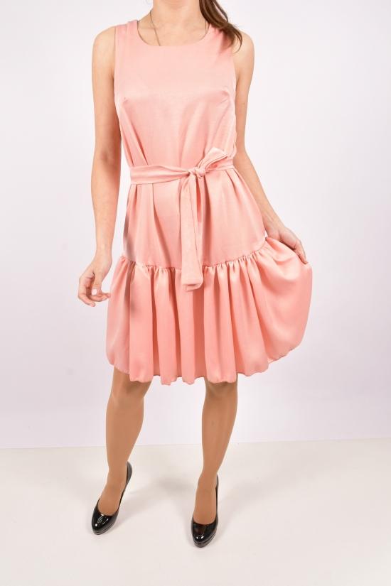 Платье женское (цв.пудры) Размеры в наличии : 40, 42, 44, 46 арт.070