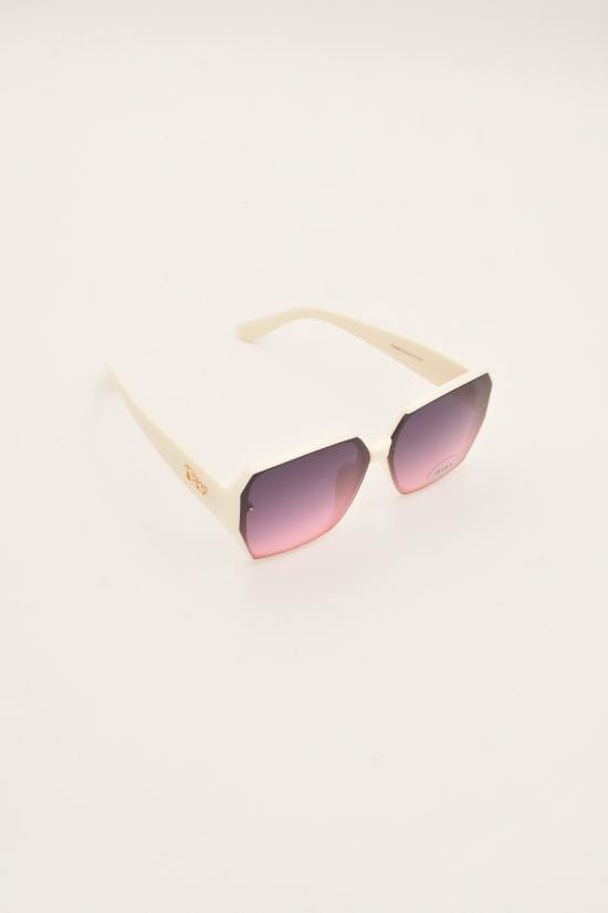Очки женские солнцезащитные (стекло цвет розовый) DIOR арт.S8850