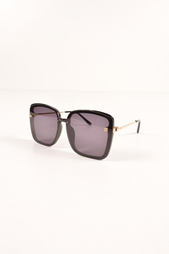 Очки женские солнцезащитные (цв.черный) DIOR арт.22-6361