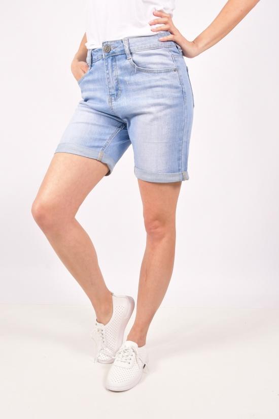 Шорты женские джинсовые стрейчевые Размер в наличии : 26 арт.MF-2150