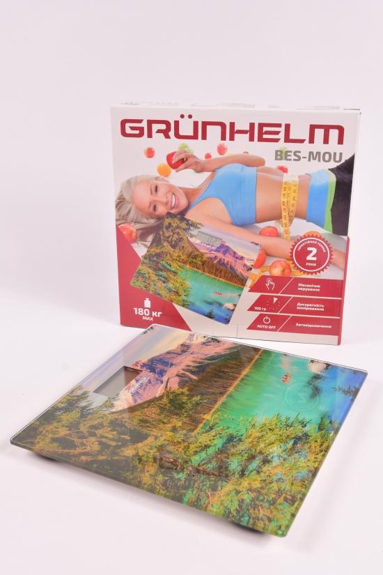 Весы напольные до 180 кг.Grunhelm (Горы) арт.BES-MOU