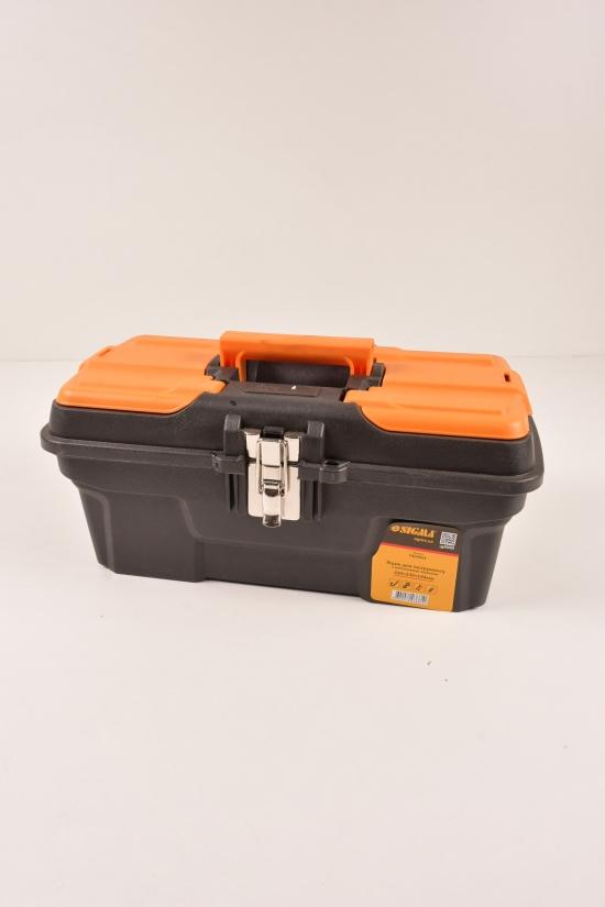 Ящик для инструмента металлические замки 434/239/194мм арт.7403661