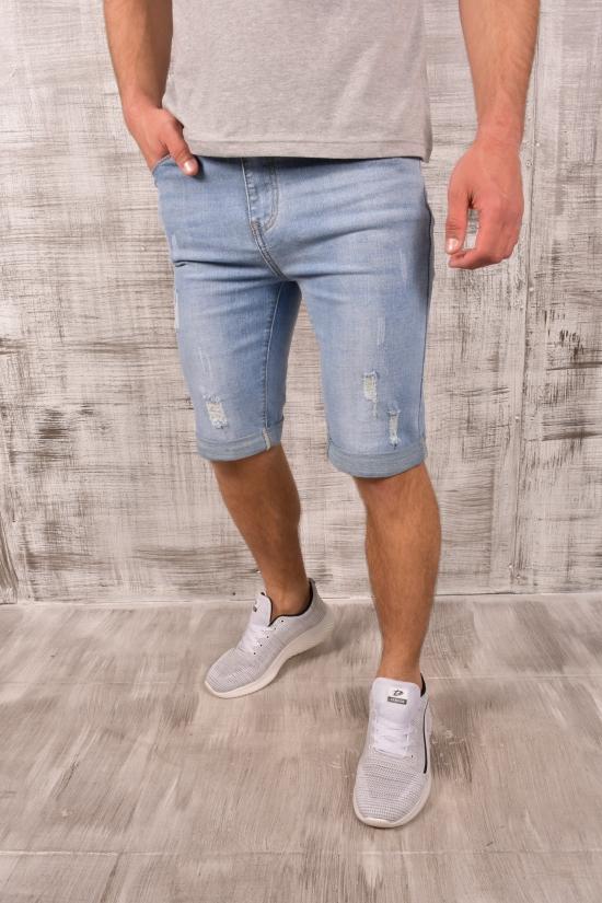 Шорты мужские джинсовые стрейчевые NewJeans Размеры в наличии : 29, 30, 31, 32, 34 арт.DT915