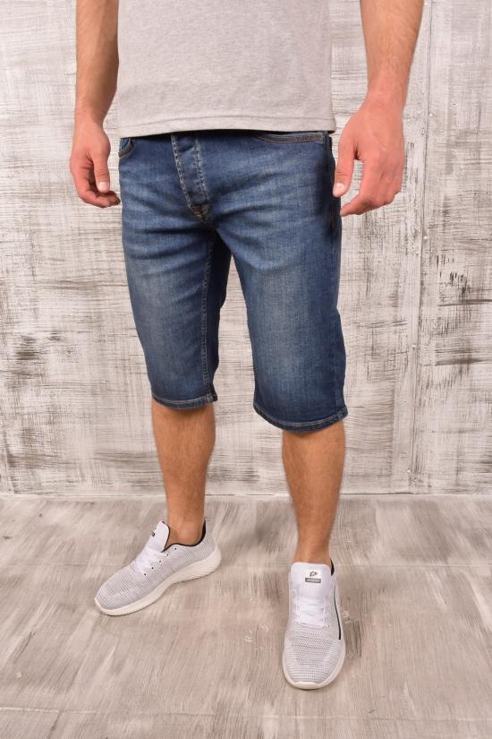Шорты мужские джинсовые стрейчевые (col.2) LAGOS Размеры в наличии : 30, 31, 32, 33, 34, 36 арт.20853