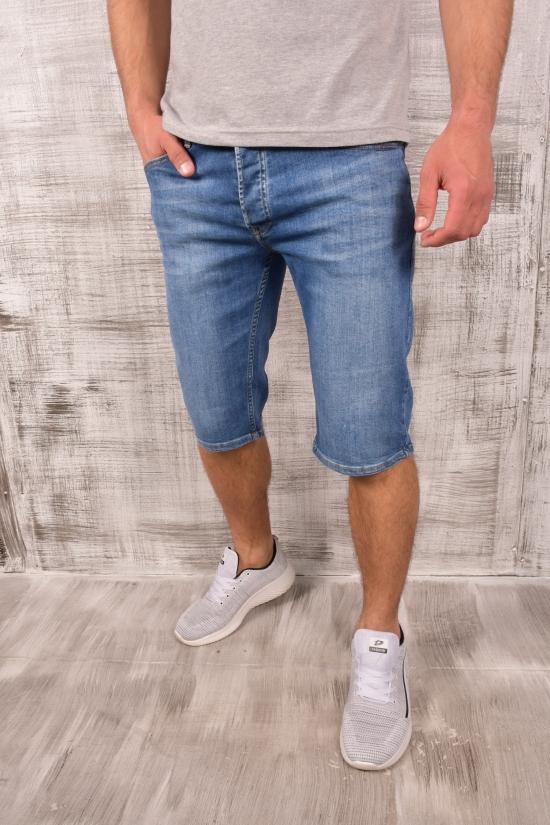 Шорты мужские джинсовые стрейчевые (col.1) LAGOS Размеры в наличии : 30, 31, 32, 33, 34, 36 арт.20853