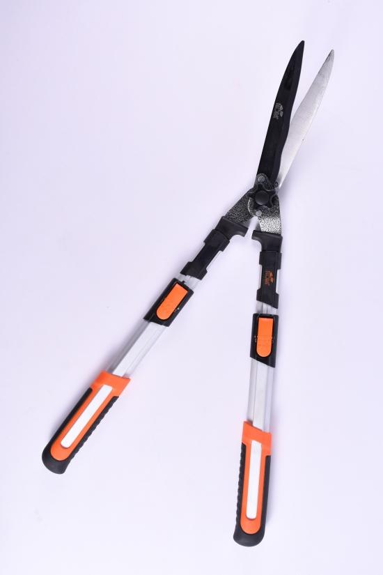 Ножницы для кустов телескопические алюминиевые рукоятки 711-833мм арт.5024414