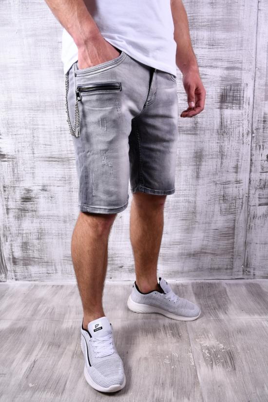 Шорты мужские джинсовые с поясом Cobbelti Размеры в наличии : 30, 31, 32, 33, 36 арт.1030-15