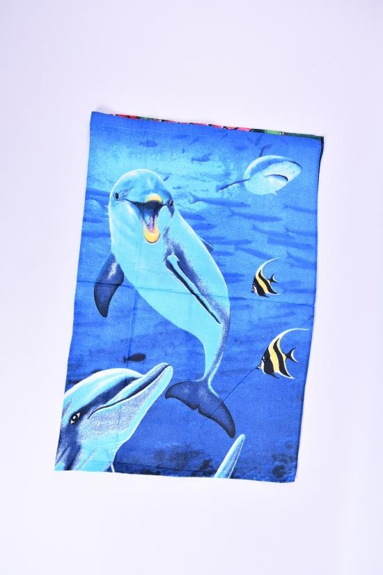 Полотенце пляжное размер 140/70 см (вес 260г.) арт.2241