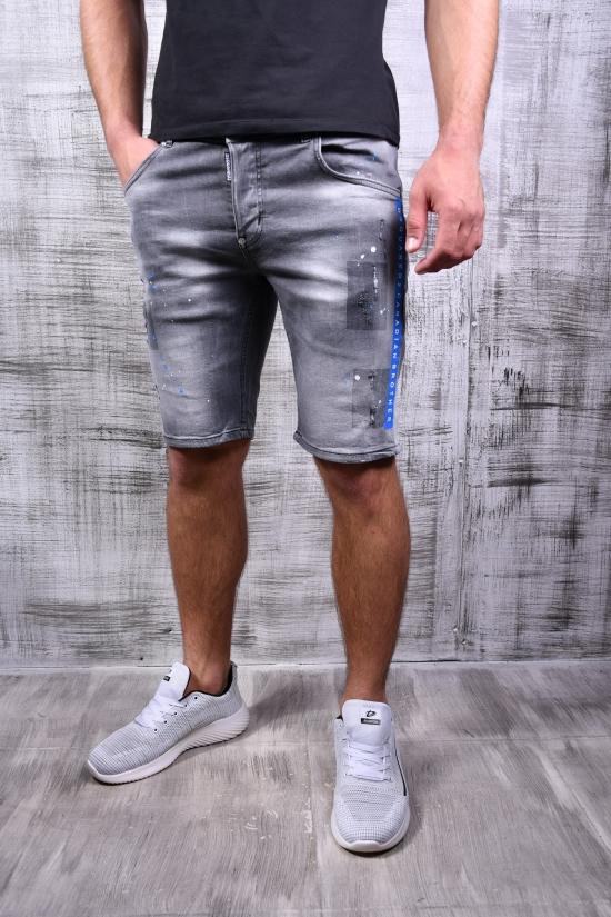 Шорты мужские джинсовые стрейчевые DSQUARED Размеры в наличии : 27, 28, 29, 30, 31, 32, 33 арт.364-32