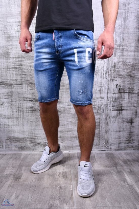 Шорты мужские джинсовые стрейчевые DSQUARED Размеры в наличии : 27, 28, 29, 30, 31, 32, 33 арт.312-198