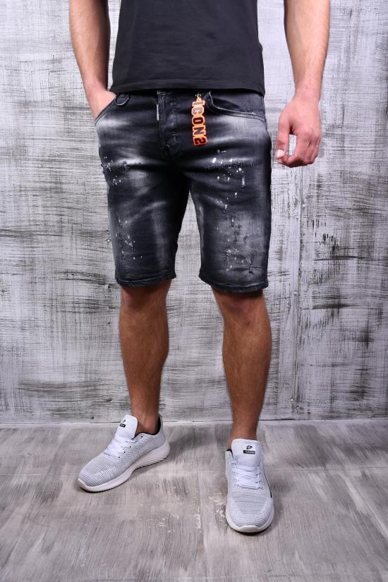 Шорты мужские джинсовые стрейчевые DSQUARED Размеры в наличии : 28, 29, 30, 31, 32, 33, 34 арт.321-32