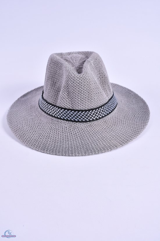 Шляпа для мужчины (цв.серый) арт.612858