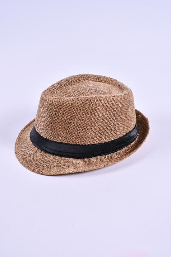 Шляпа для мужчины (цв.капучино) арт.612863
