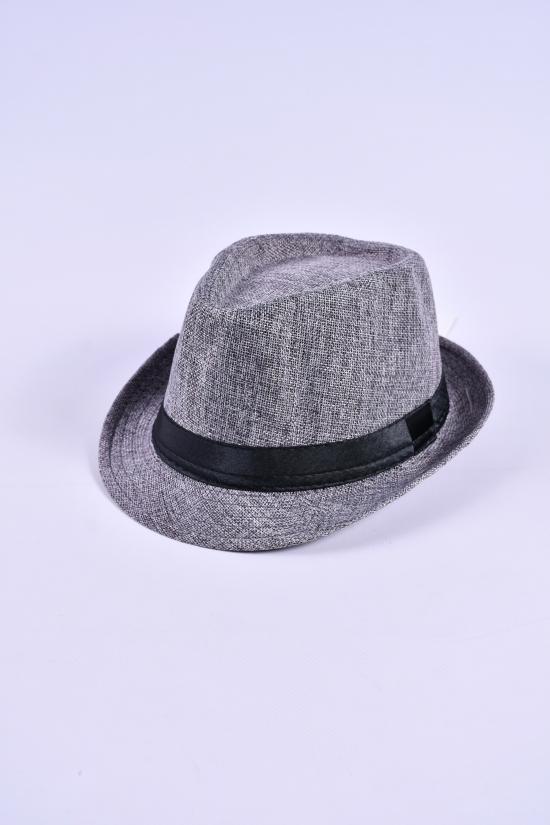 Шляпа для мужчины (цв.серый) арт.612863