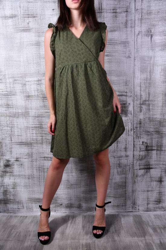 Платье женское (цв.хаки) Размеры в наличии : 38, 40, 42 арт.843