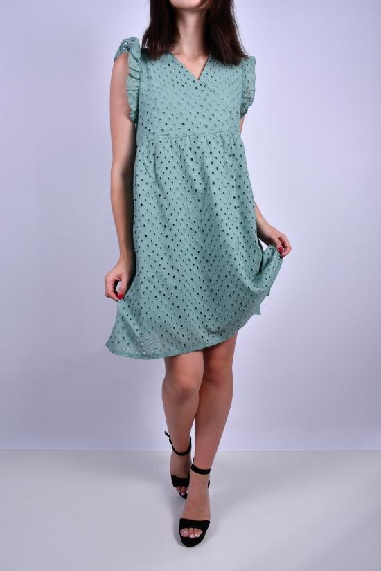 Платье женское (цв.мяты) Размеры в наличии : 38, 42 арт.843