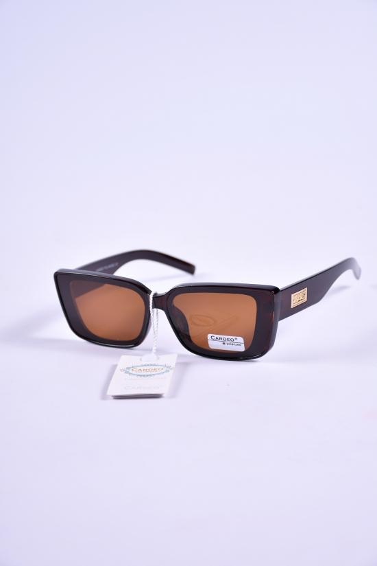 Очки мужские солнцезащитные Polarized (цв.коричневый) арт.P2901