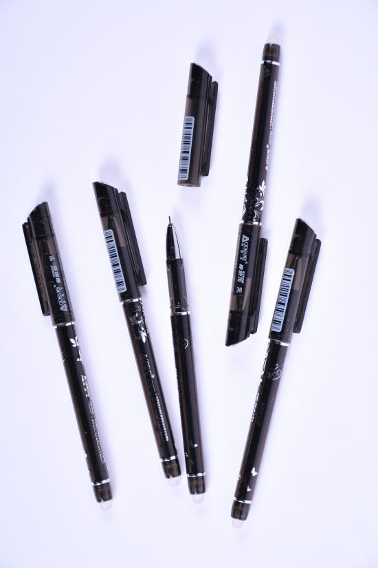 """Ручка пиши-стирай (цв. черный) 0.5mm """"ODEMEL"""" арт.GP-3132"""