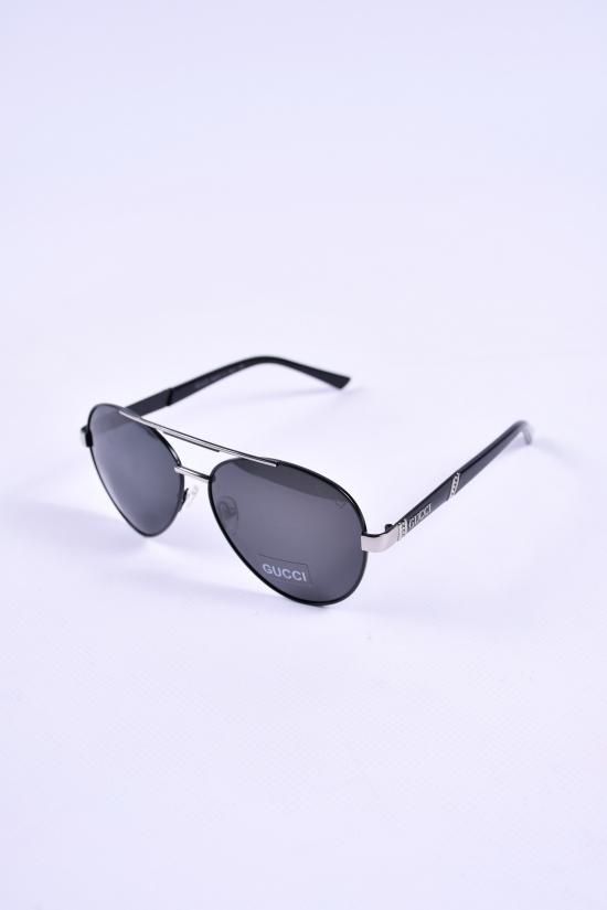 Очки мужские солнцезащитные (цв.черный) GUCCI арт.8007