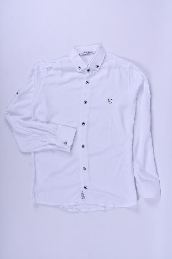 Рубашка для мальчика (цв.белый) CAN BULGAN Рост в наличии : 134, 140, 146, 152, 158 арт.9898-2