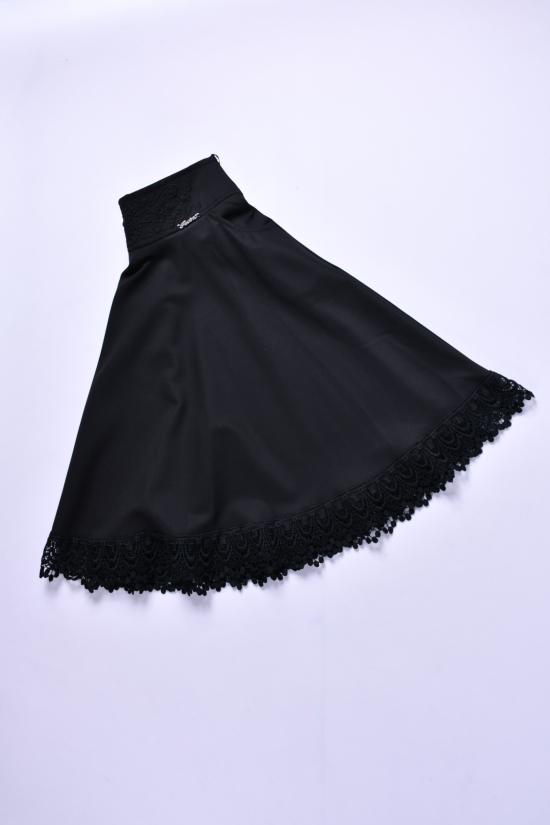 Юбка для девочки (цв.чёрный) Awino Рост в наличии : 140, 158, 164 арт.54-111
