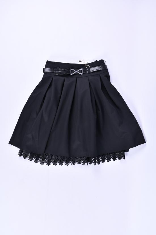 Юбка для девочки (цв.черный) AWADORE Рост в наличии : 116, 122, 128, 140 арт.224
