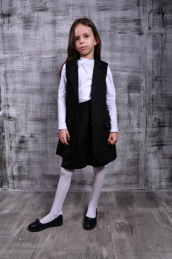 Жилет для девочки (цв.черный) AWADORE Рост в наличии : 128, 134 арт.2002