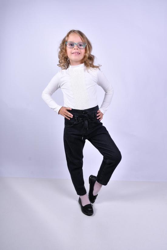 Блузка для девочки (цв.молочный) стрейчевая TOONTOY Рост в наличии : 116, 140, 152, 158 арт.16656