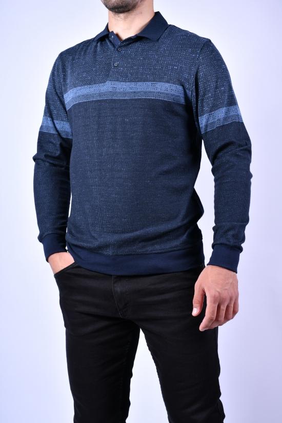 Джемпер мужской тонкой вязки (цв.синий/т.синий) VIP STENDO Размеры в наличии : 48, 50, 52 арт.S21-1266