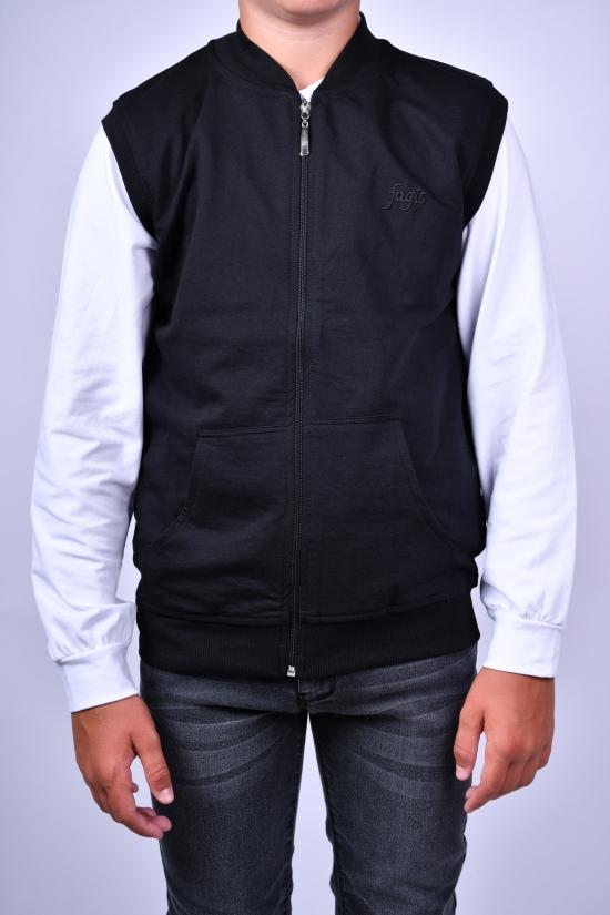 Жилетка для мальчика (цв.черный) FAGIS Рост в наличии : 116, 128, 140, 152 арт.714