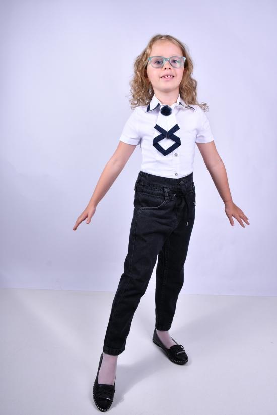 Блузка для девочки (цв.белый) FAGIS Роста в наличии : 116, 122, 128, 134 арт.196030