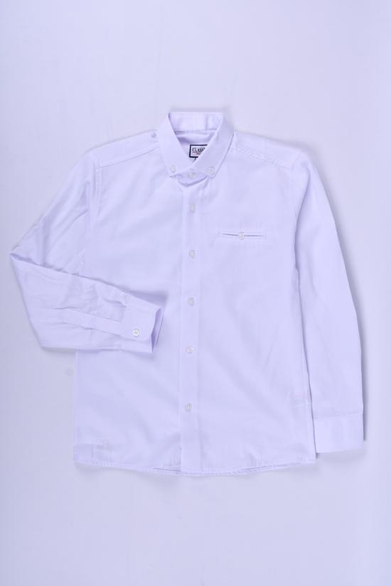 Рубашка для мальчика (цв.белый) RUTTI GARRO Рост в наличии : 146, 152, 158, 164, 170 арт.11-15