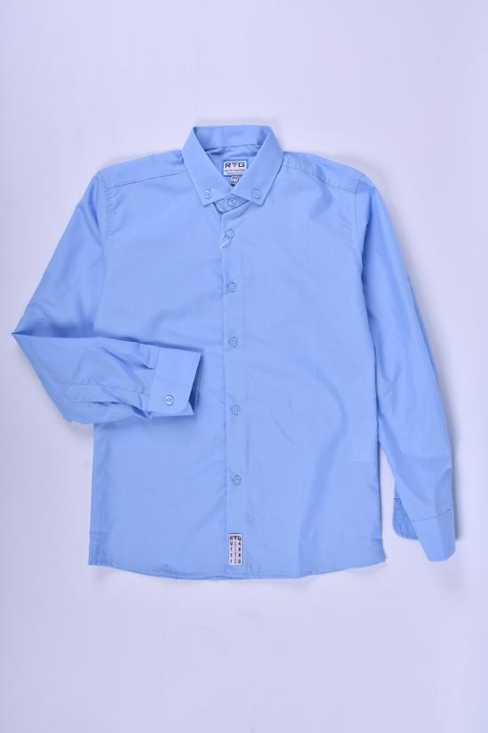 Рубашка для мальчика (цв.голубой) RUTTI GARRO Рост в наличии : 146, 152, 158, 164, 170 арт.11-15