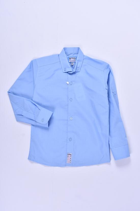 Рубашка для мальчика (цв.голубой) RUTTI GARRO Рост в наличии : 128 арт.5-8