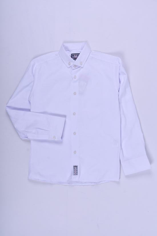 Рубашка для мальчика (цв.белый) RUTTI GARRO Рост в наличии : 134, 140, 146, 152 арт.9-12