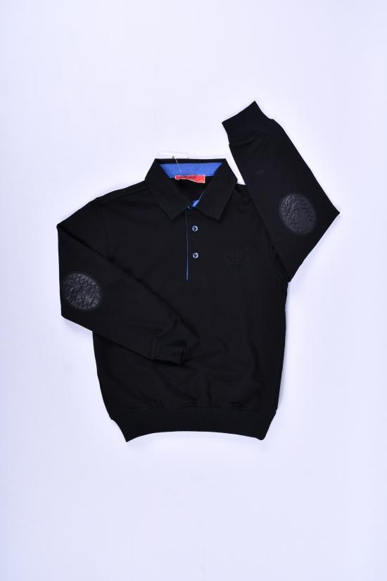 Джемпер для мальчика (цв.черный) COLD STEEL Рост в наличии : 116, 128, 134, 140 арт.5053