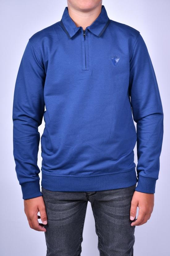 Джемпер для мальчика (цв.синий) COLD STEEL Рост в наличии : 140, 146, 158, 170 арт.1459