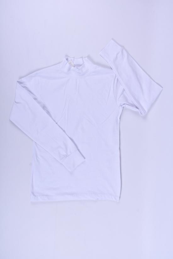 Водолазка детская (цв.белый) стрейчевая BOLD Рост в наличии : 140, 152, 164, 176 арт.900