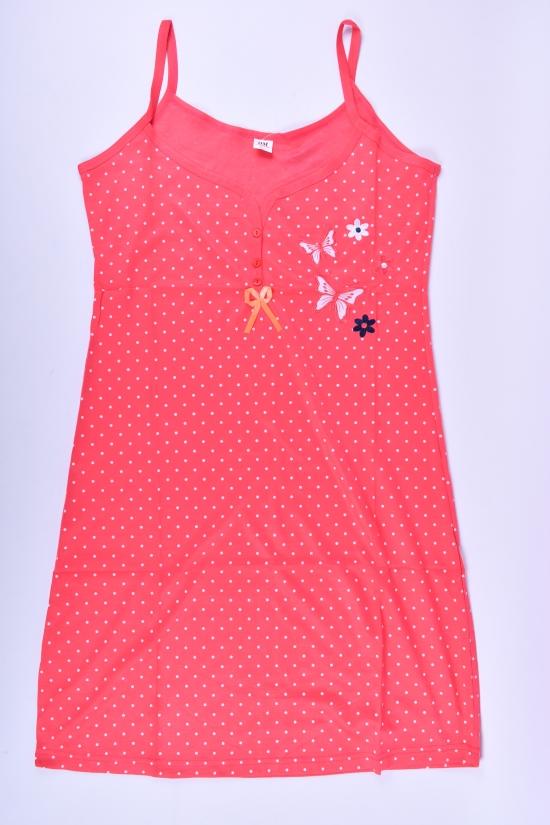 Ночная рубашка женская трикотажная Размеры в наличии : 46, 48, 50, 52, 54 арт.DNU76-2D