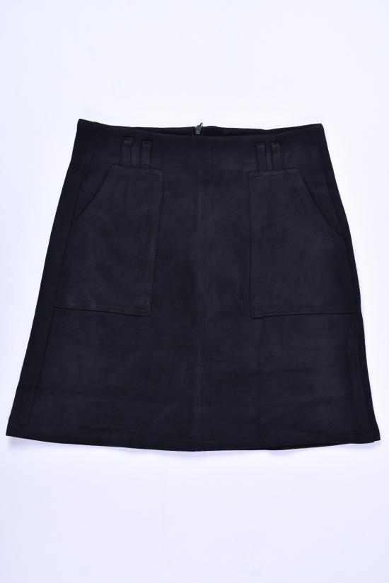 Юбка для девочки стрейчевая (цв.чёрный) Fudeyan Рост в наличии : 152, 158 арт.622