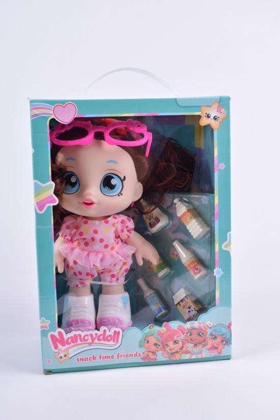 Игровой набор NANCY DOLLS куклы пупсики KINDI KIDS + пирожные размер игрушки 25 см арт.NC2411/2/3/4