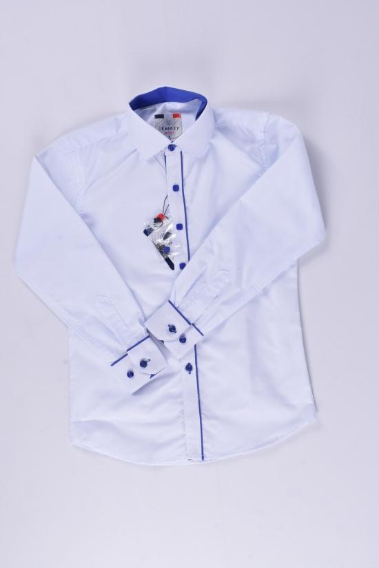 "Рубашка для мальчика (Slim Fit) ""IKEENZY"" Рост в наличии : 110, 146, 158, 164 арт.B-SKY2975"