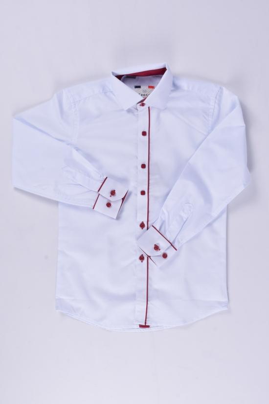 "Рубашка для мальчика (Slim Fit) ""IKEENZY"" Рост в наличии : 110, 122, 134, 140, 146, 158, 164 арт.B-SKY2974"