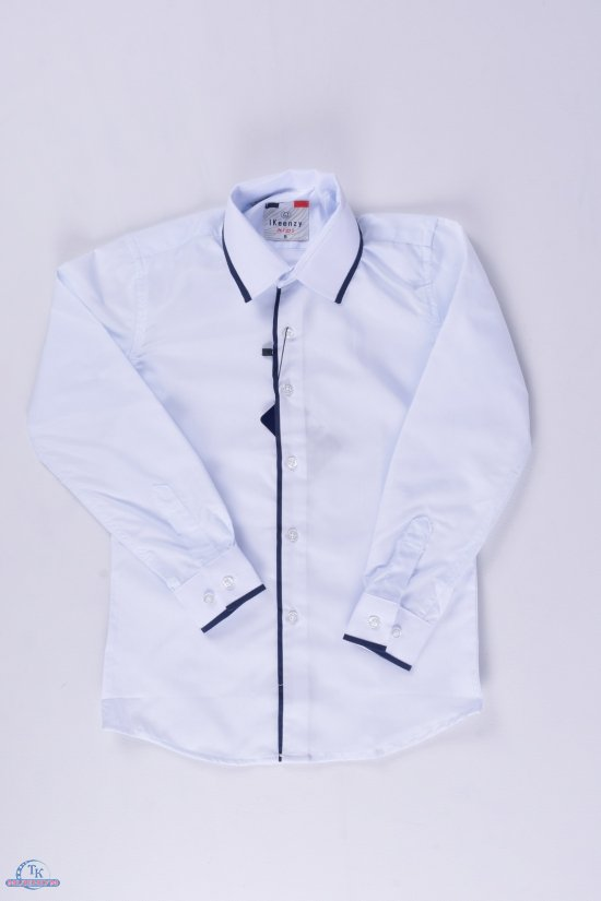 "Рубашка для мальчика (Slim Fit) ""IKEENZY"" Рост в наличии : 110, 122, 134, 140, 146, 158, 164 арт.B-SKY1404"
